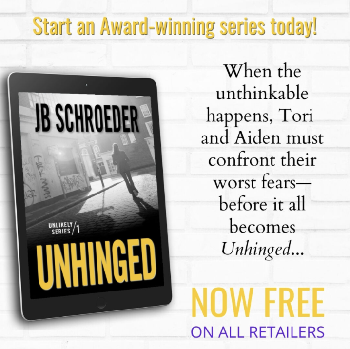 FREE FOR A LIMITED TIME: UNHINGED – UNLIKELY SERIES – BOOK 1!