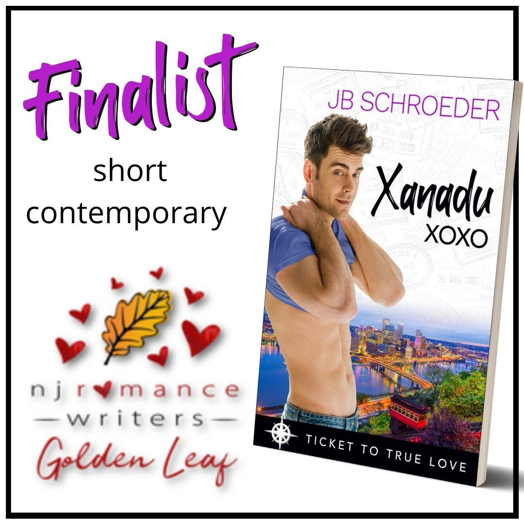 XANADU XOXO is a Finalist for Short Contemporary in the NJ Romance Writers Golden Leaf Contest!